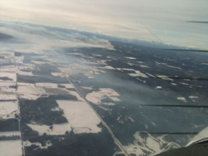 Forest Fire near Cremona