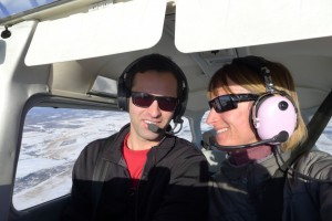 Me with my instructor Atanas. He's cool, but sometimes I just want the airplane to myself!