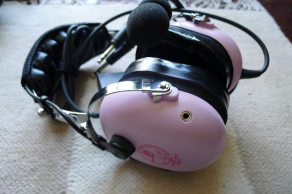 ANR Headset from Powder Puff Pilot