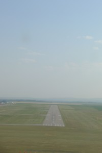 Hot summer flying makes for low density altitude.