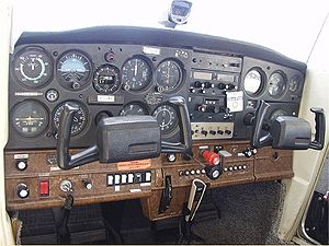 A control panel for a Cessna 152. Category: Images of Cessna aircraft (Photo credit: Wikipedia)