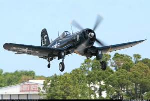 Chance Vought F4U Corsair. Image from Airliners.net