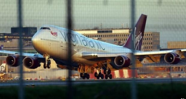 landing gear failure of a virgin atlantic 747 400 flytime ca rh flytime ca Aircraft Hard Landing Delta Airlines Landing