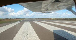 cessna 172 on departure