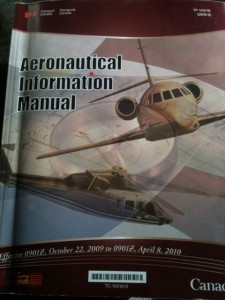 Aeronautical Information Manual (AIM), published by Transport Canada.
