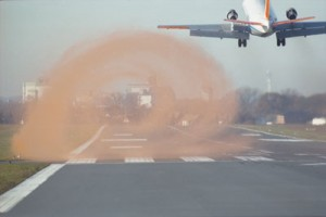 Vortices are a by product of lift. Image from Nature.com