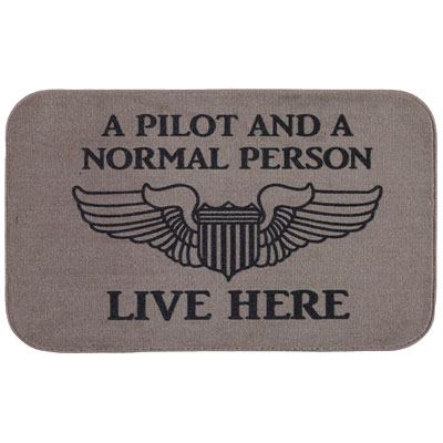 Do they have a sense of humour? Pilot paraphernalia is always a fun gift.