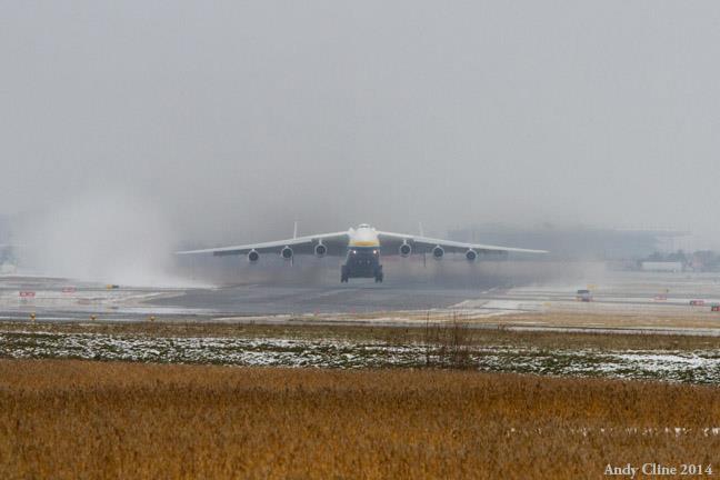 Antonov 225 on takeoff