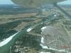 Over the North Saskatchewan River